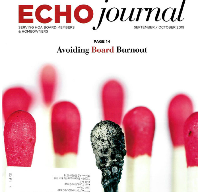 ECHO journal: Best Practices for Vendor and Contractor Agreements