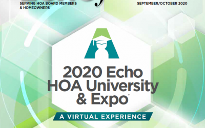 ECHO Journal Sep-Oct 2020 Echo HOA University & Expo
